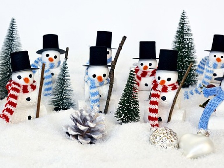 Snowman photo for Surrey Heath Awards